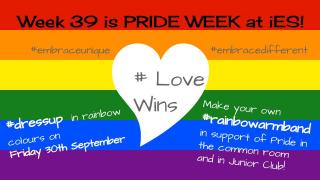 w. 39 Pride week at IES Halmstad